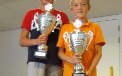 Ivo Bot en Dide Provily clubkampioenen